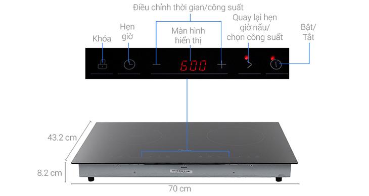 Cách sử dụng bếp hồng ngoại Midea MC-IHD361 đúng cách