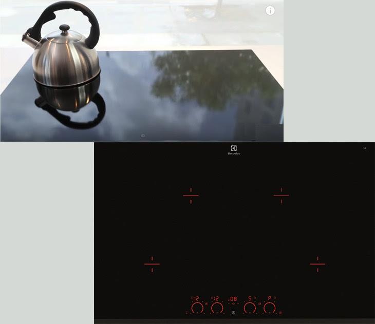 Những tính năng đặc biệt trên bếp từ đôi  Electrolux EHD8740FOK