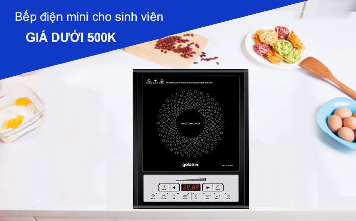 Điểm qua những mẫu bếp từ giá rẻ dưới 500k cho sinh viên